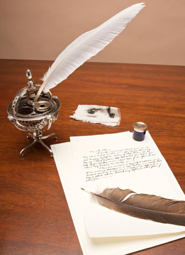 Inkwell from collections - for CW Journal article